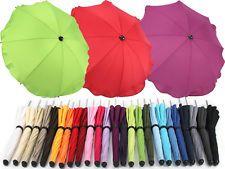 Universal baby sun rain UMBRELLA PARASOL baby pushchair pram shade canopy