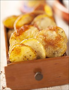 Homemade Potato Chips - a delicious and easy D.I.Y. - baked, not fried.
