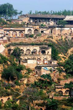 Cave Dwelling in Qikou Ancient Town (碛口窑洞)
