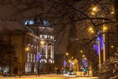 Zimowy Poznań na niezwykłych zdjęciach