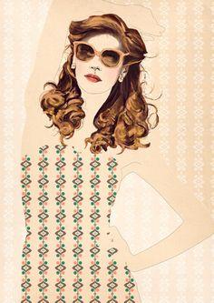Hilla Hryniszyn - fashion illustration