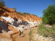Fairy stream in Mui Ne Vietnam