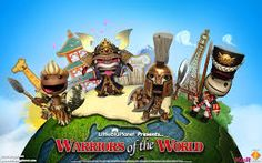 Warriors of the World (Little Big Planet) Little Big Planet, Planets, Presents, Christmas Ornaments, World, Holiday Decor, Warriors, Toy, Google Search