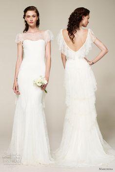 Marchesa wedding dress, spring 2013