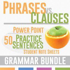 Phrase vs. Clause Bundle