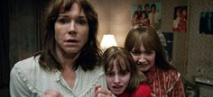CS sits down with Conjuring 2 cast members Vera Farmiga, Patrick Wilson, Frances O'Connor & Madison Wolfe as well with writer and director James Wan. Breaking Bad, Elvis Presley, Enfield Haunting, Movies To Watch, Good Movies, Sex And The City, Frances O'connor, The Conjuring Annabelle, Horror Films