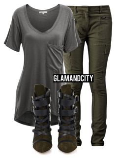 Untitled #270 by glamandcity on Polyvore featuring polyvore, fashion, style, Doublju, 3.1 Phillip Lim and Isabel Marant
