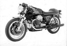 1974 Moto Guzzi 750 S (original Moto Guzzi picture) www.moto-officina.com