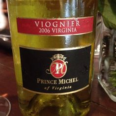 2006 Prince Michel Viognier, Virginia