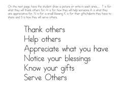 Free Gratitude Worksheets for Kids