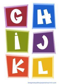 #letras para #imprimir #pocoyo #printables