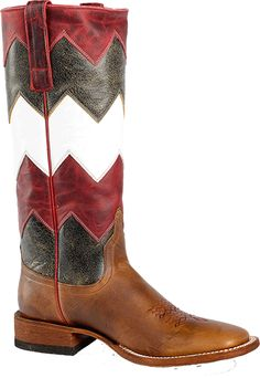 Macie Bean Womens Getting Ziggy With It Boot: M9062