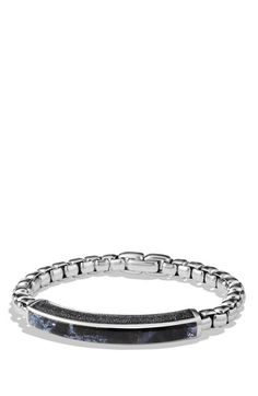 Men's David Yurman 'Exotic Stone' ID Bracelet - Pietersite