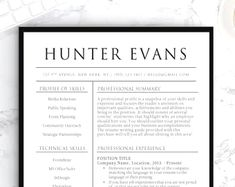 Simple resume templates to make your CV professional. All of these visual CV templates come with a matching cover letter and reference page.  #career #jobsearchtips #MinimalistResume #jobsearch #SimpleResume #cvtemplate #resumetemplate #job #basicresume #cv Template Cv, Nursing Resume Template, Simple Resume Template, Teacher Resume Template, Cover Letter Template, Resume Templates, Cv Design, Resume Design, Design Ideas