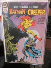BATMAN and the Creeper --The Best of Brave and the Bold #4 VF no slice DC COMICS Neal Adams