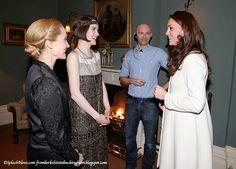 The Duchess Drops In At Downton: Kate Wears JoJo Maman Bébé