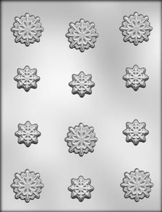 CK Products Snowflakes Chocolate Mold * Review more details @ : baking essentials