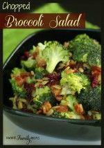 Broccoli Salad - favfamilyrecipes.com