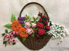 Getting to Know Brazilian Embroidery - Embroidery Patterns Bullion Embroidery, Brazilian Embroidery Stitches, Hand Embroidery Videos, Embroidery Flowers Pattern, Hand Embroidery Stitches, Silk Ribbon Embroidery, Hand Embroidery Designs, Beaded Embroidery, Embroidery Needles