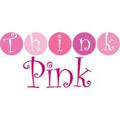 Awareness Ribbon clothing -> Think Pink (circles) Awareness Ribbon t-shirts