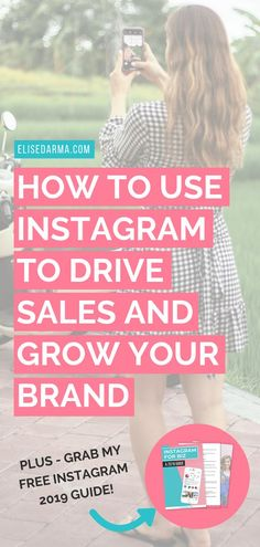 Your product, brand or service is missing out on tons of potential eyeballs without being on Instagram. Especially in 2019.   So today, I'm talking all about how to drive sales with Instagram and showing you how Instagram can help your business with strategies you can start implementing today.   #instagram #socialmedia #sales #onlinebusiness #onlinebiz #entrepreneur #revenue Free Instagram, Instagram Tips, Content Marketing, Social Media Marketing, Business Tips, Online Business, Instagram Marketing Tips, Young Entrepreneurs, Blogging For Beginners