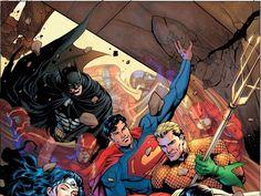 55 geniales ilustraciones de la Liga de la Justicia - Taringa!