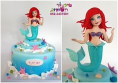 ariel cake - Cake by sharon tzairi - cakes-mania
