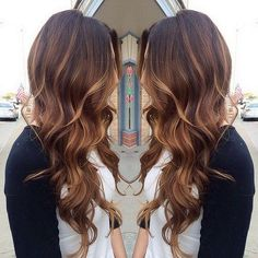 Cute Brown Hair with Caramel Highlights