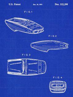 Star Trek Phaser Patent Print - Patent Poster - Star Trek Poster - Toy Phaser Patent - Faux Vintage