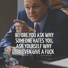 The Wolf Of Wall Street Most Famous Quotes - Zitate / Aufmunterung / KontraK - Quotes Great Quotes, Quotes To Live By, Me Quotes, Funny Quotes, Inspirational Quotes, Fun Life Quotes, Famous Motivational Quotes, Rich Quotes, Badass Quotes