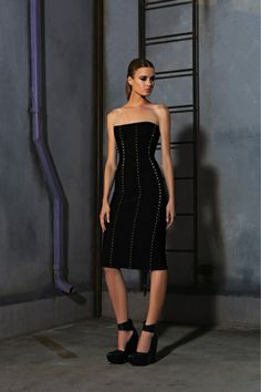 Hervé Léger by Max Azria Pre-Fall 2013 Collection Slideshow on Style.com