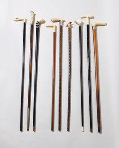 1stdibs.com   Set of 9 Walking Sticks or Canes