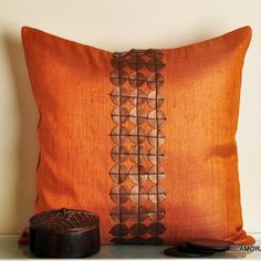 SILK CUSHION.