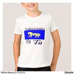 Yellow Horse Camiseta