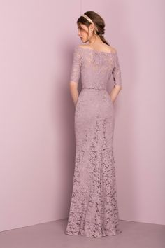 Find your dream bridesmaids, prom dress or bridal on our kelsey rose collection page Lilac Grey Bridesmaid Dresses, Lilac Dress, Dress Brukat, Kebaya Dress, Kebaya Brokat, Chiffon Dress, Trendy Dresses, Fashion Dresses, Formal Dresses
