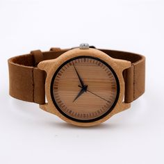 Hot Selling Japanese MIYOTA Movement Wristwatch Genuine Leather Bamboo Wooden Watches For Men And Women Bracelet Tag a friend who would love this!  #shop #beauty #Woman's fashion #Products #Watch