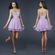 Light Purple Formal Wedding Bridesmaid