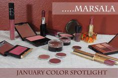 January Color Spotlight- MARSALA