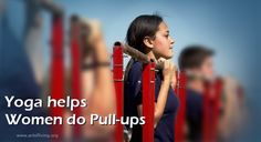 Pull-ups for Women made easy with Yoga |#Yoga - Art of Living India