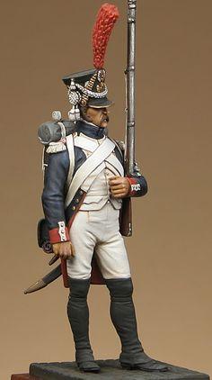 Fuciliere di un rgt. di linea francese,  1809-15