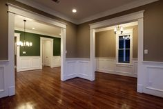 Molding Over Windows | Molding over doors and windows | dream home