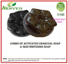 Soap Dispensers Arnved Activated Charcoal & Skin Whitening Ubtan Soap  Pack: Pack of 2 Country of Origin: India Sizes Available: Free Size   Catalog Rating: ★3.8 (352)  Catalog Name: Arnved Proffesional Soaps Combo Vol 3 CatalogID_903925 C132-SC1588 Code: 312-5971091-213