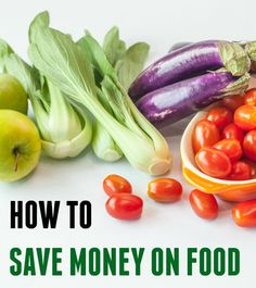How to save money on food! Eat well + spend less. It just takes some planning! Read more: http://amerrylife.com/2014/12/17/how-to-save-money-on-food/