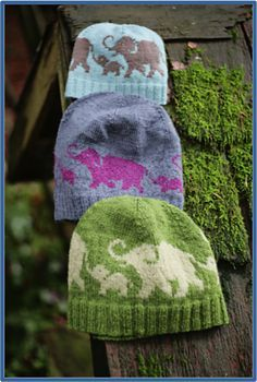 Rose & Lily pattern by Lenka Ilcisin & Emily Williams. Rose & Lily pattern by Lenka Ilcisin & Emily Williams. Knitting For Kids, Baby Knitting Patterns, Knitting Yarn, Hand Knitting, Yarn Projects, Knitting Projects, Crochet Projects, Elephant Hat, Crafts