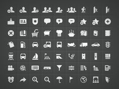 Uncommon icons set by Luis Alves (see first response for Download Link)