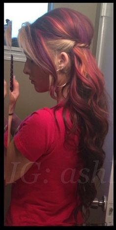 I ♥ red and blonde hair!