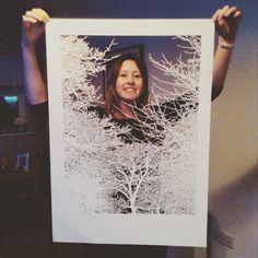 Freshly completed papercut Paper Cutting, Polaroid Film, Artwork, Work Of Art, Auguste Rodin Artwork, Artworks, Illustrators