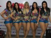 As 5 bailarinas mais linda e sensual do Domingão do faustão