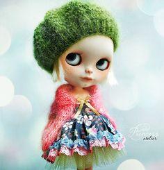 WILD SPRING FLOWERS Blythe Set By Odd Princess by oddprincess