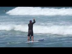 SUP How to paddle through breaking waves